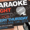 Karaoke Night with Rachou @ The Irish Embassy