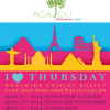 I love Thursdays @ Acajou / Montana