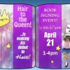Hair to the Queen book signing event @ Les Jardins du Mupanah