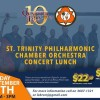 St. Trinity Orchestra Concert Lunch @ Quartier Latin