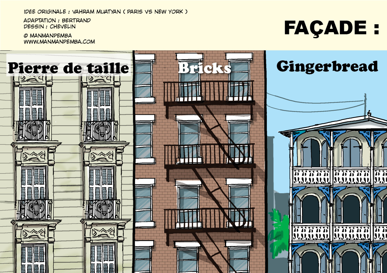 Pemba City Blog Illustrated Feb Th Paris Vs NewYork Vs Portau - Paris port au prince